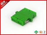 SC Duplex APC Adaptador de fibra óptica monomodo.