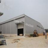 Edificio de almacenaje ligero de la estructura de acero con el palmo grande