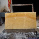 노란 꿀 오닉스 대리석, 공작 비취 대리석 석판
