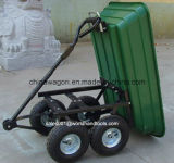 Chariot de toit Poly Garden avec cadre en acier et capacité de 600 livres