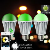 Bluetooth/WiFi/van RGB/RGBW LED Bulb