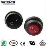 Luz LED de encendido electrónico on-off Interruptor de alimentación Waterproof Pulse el botón interruptor basculante para Auto Parts (Kan-B2-25P-12)
