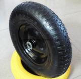 4.80/4.00-8 Rotella di gomma pneumatica con l'orlo di plastica