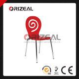 뒤 구멍 (OZ-1039)를 가진 Soild 목제 의자를 겹쳐 쌓이는 고품질
