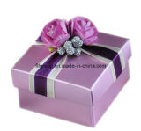Rectángulo de empaquetado del regalo rosado de moda (FJL0113)