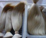灰色の毛の人間の毛髪の拡張