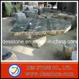 Talla serpentina al aire libre y del jardín de mármol de piedra natural de la tabla
