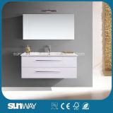 2017 Hot Venda Europa Style banho MDF armário com espelho Cabinet Sw-1313