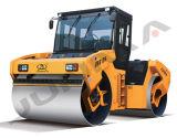 최신 판매 Junma 도로 쓰레기 압축 분쇄기 13 톤 진동하는 도로 쓰레기 압축 분쇄기