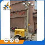 Fabricado na China torre de luz