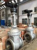 Запорная заслонка литой стали управлением электрического двигателя API/GOST/DIN Dn700 Py16