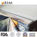 Papel de aluminio del hogar para el acondicionamiento de los alimentos