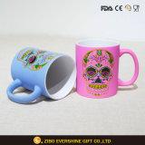 11oz rubber die de Rechte Ceramische Mok van de Koffie schilderen