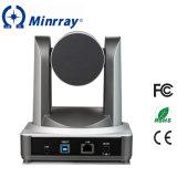 De Camera van de Videoconferentie PTZ van het Kompas USB van Minrray Compatibel met Skype