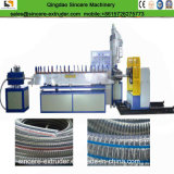 Chaîne de production de boyau de PVC ligne spiralée d'extrusion de boyau renforcée par acier