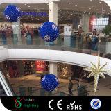 LEDのチンサルのクリスマスの球のモチーフライト