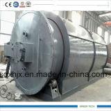 Neumático que recicla la máquina que consigue el aceite combustible y el alambre