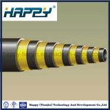 Boyau spiralé de fil supérieur de la pression R13 six de SAE 100