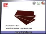 Feuille isolante en tissu stratifié de coton phénolique