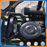 Cargador europeo de la rueda del diseño 800kg de las Caliente-Ventas mini con las varias conexiones