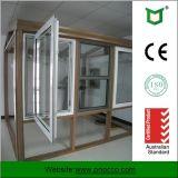 Fenêtre à manivelle en aluminium revêtue de poudre
