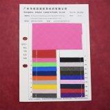 Grade elástica padrão impresso PU couro sintético Couro Embalagem decorativa