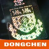 2d DOT Matrix Laser Custom 3D Hologram Sticker