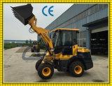 partes frontales compactas de 30HP 40HP 1200kg 1.2t cargador de la rueda de 1.2 toneladas