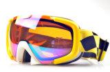 Anti-Fog Sicherheitsgläsersnowboard-Großhandelsschutzbrillen mit Fall