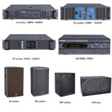 80W 2.0 canais de som amplificadores estéreo padrão