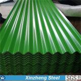 Das galvanisierte Stahlblech, trapezoid/runzelte Dach-Blatt