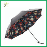 مختلفة [مودل فكتوري] مباشرة ثلاثة يطوي دليل استخدام مظلة مفتوحة