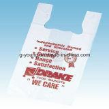 Полиэтиленовый пакет мешка тенниски клиента напечатанный логосом