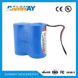3.6V Er34615m Batterie au lithium de type spirale pour téléphone sans fil maritime à deux voies