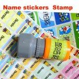 新しいPVC防水印刷はPVC漫画の名前Stickesをからかう