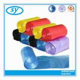 Sac d'ordures multi en plastique matériel de couleur de PE