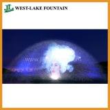 Wasser-Bildschirm-Brunnen für Film, Video, Abbildung, Laser-Projektion