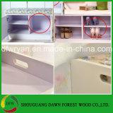 PVCドアの靴のキャビネットの簡単な様式の木の靴のキャビネット