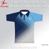 Healong 판매를 위한 최신 판매 의복 승화 100%년 폴리에스테 폴로 셔츠