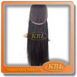 Peruca de moda da peruca de renda de seda brasileira