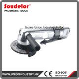Amoladora de ángulo económica tipo herramientas de pulido de la palanca de 4 pulgadas del aire