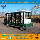 Marca Zhongyi 11 lugares 72V eléctrico alimentado por bateria de alta qualidade passeios carro com marcação CE e certificação SGS