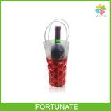 Sacs congelables de refroidisseur de vin de gel de PVC avec le traitement