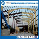 Les structures métalliques de bâti portique ont préfabriqué la structure métallique