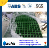 Superficie antideslizamiento rejilla de plástico reforzado con fibra ABS aprobó la norma ISO 9001