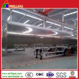 3半車軸30cbm 35cbm 40cbm 50cbmアルミニウム石油燃料のタンカーのトレーラー