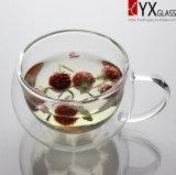 220 ml Doble pared de vidrio taza de café / de doble pared taza de cristal / de doble pared de vidrio termo Copa