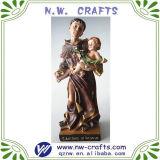 La resina única estatua religiosa