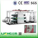 6 colores Humano alta velocidad Imagínese Máquina de impresión flexográfica