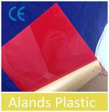 [2-25مّ] حجم [4إكس8فت] شفّافة ويلوّن بلاستيكيّة مساء صفح